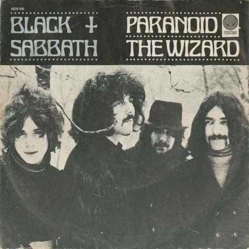 Black Sabbath - Paranoid / The Wizard (1970, Vinyl) | Discogs