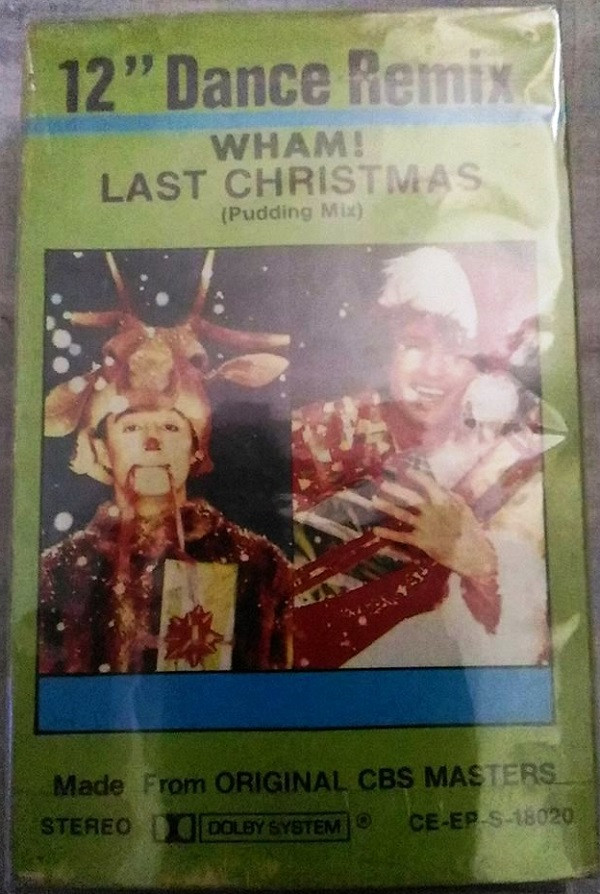 wham last christmas 12 dance remix cassette at discogs - Wham Last Christmas Pudding Mix