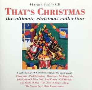 Thats Christmas CD Album Compilation Discogs