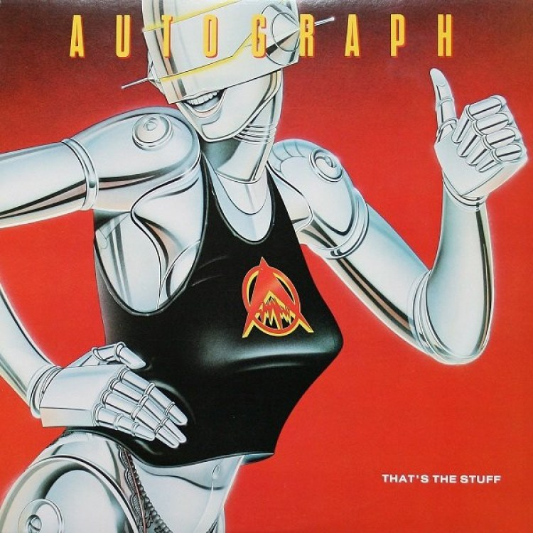 Autograph – That's The Stuff (1984, Vinyl) - Discogs