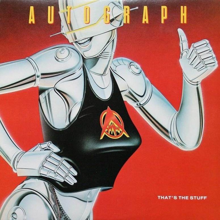 Autograph – That's The Stuff (1984, Vinyl) - Discogs