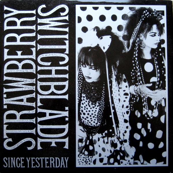 Strawberry Switchblade Since Yesterday 1984 Vinyl