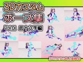 3Dカスタムポーズ集 Vol.01 四十八手編