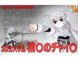 """3Dカスタム少女用追加衣装 セット """"3Dカスタム 棺○のチャイ○"""""""