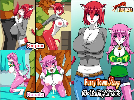 [FIRE TIGER] Furry Town Story 04 - The Kitty Girlfriends