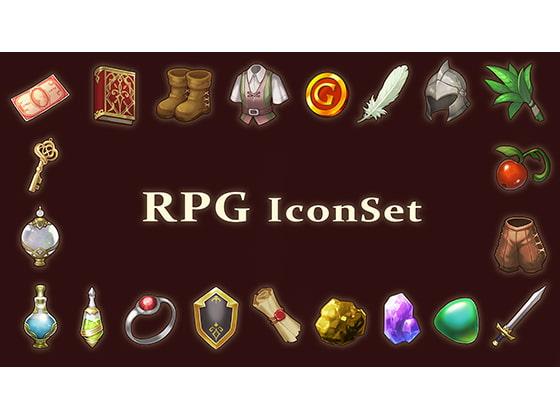 RPGアイコン素材セット