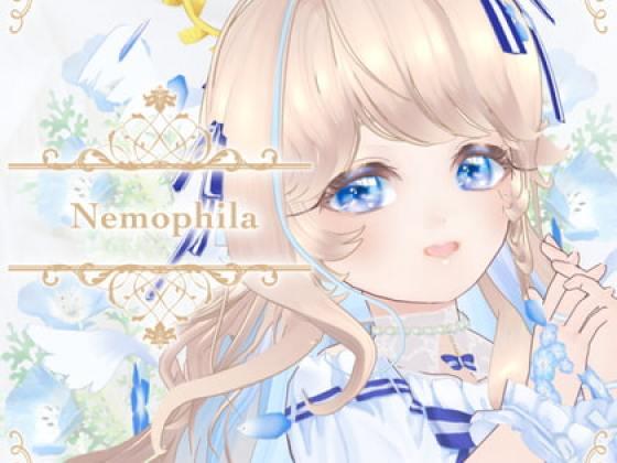 [39studio] オリジナル3Dモデル『ネモフィラ-Nemophila-』