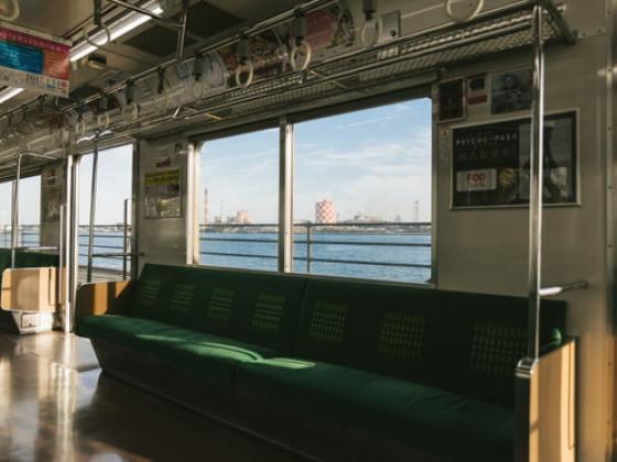 [霧切酢] 電車のバイノーラル録音
