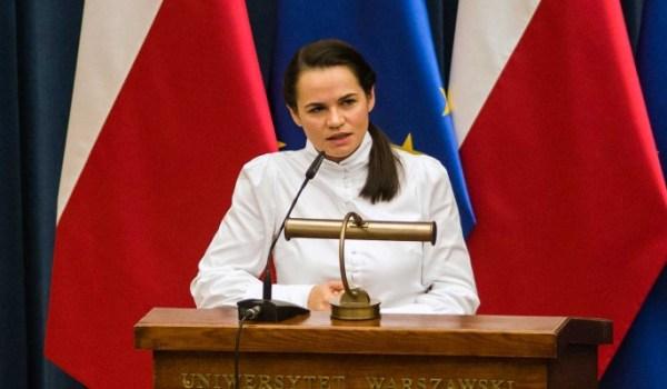 В Кремле оценили предложение Тихановской о безопасности ...
