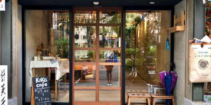 「台北大安區」 現點現做超療癒舒芙蕾「KOKU café 榖珈琲」 一進門就可以看到店員製作舒芙蕾的過程!