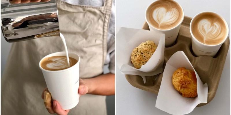 【三重美食】dateless coffee|三重新開幕的純白色系咖啡廳,不管是咖啡還是司康都很推薦!