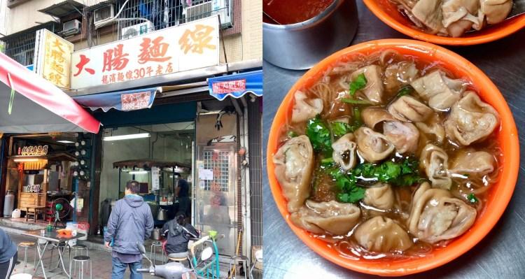 【三重美食】龍濱大腸麵線 在地人必吃的隱藏版美食,滷大腸加好加滿,絕對不能錯過!