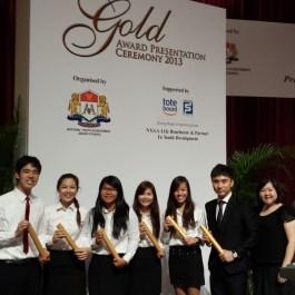 NYAA (Gold) Awardees