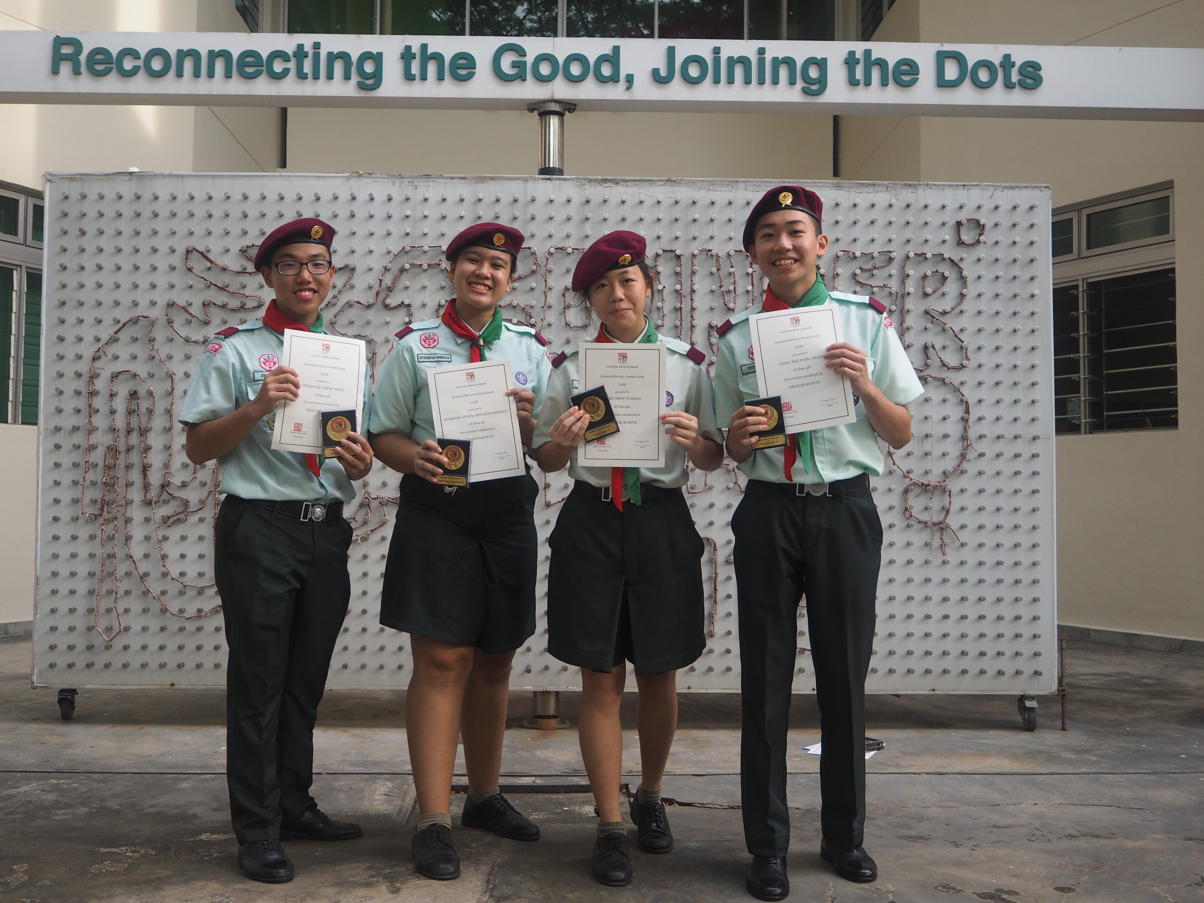 Well done, GSA (Gold) awardees