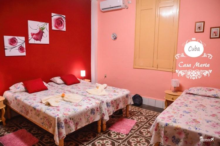 古巴聖地牙哥住宿推薦   Casa Marta 客廳超大的airbnb