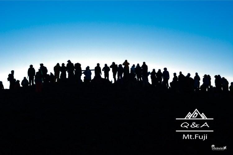 富士山攻略 | Q&A懶人包 行程 交通 住宿 一篇解決第一次爬富士山的疑問