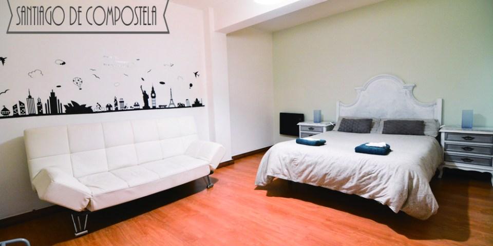 西班牙朝聖之路住宿推薦   朝聖之路終點 聖地亞哥-德孔波斯特拉 超溫馨的Airbnb