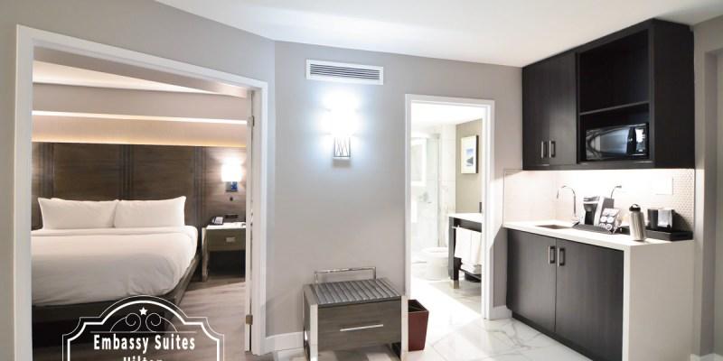 多倫多住宿推薦    Embassy Suites by Hilton 3分鐘就到機場,讓你有家的感覺