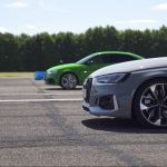 Audi Rs3 Sedan And Audi Rs4 Avant Take It Out On The Drag Strip