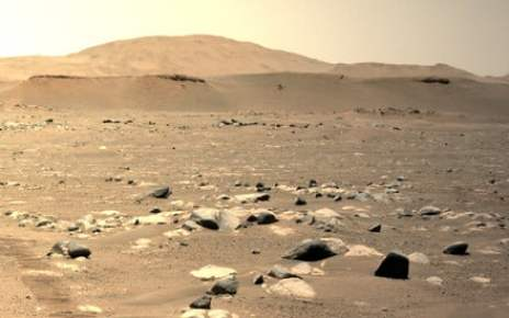 Ingenuity helicopter aces 3rd test flight over the Martian surface