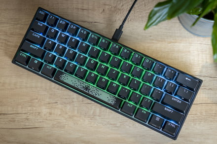 Corsair's K65 RGB Mini revitalizes mainstream 60% keyboard goodness