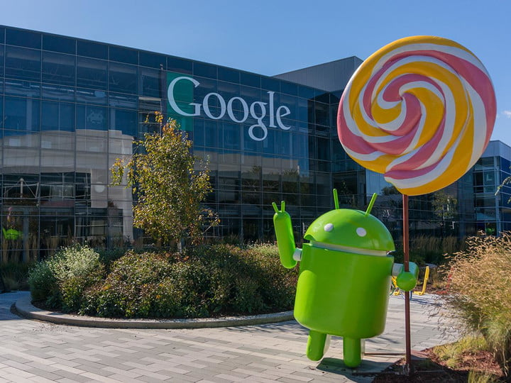Android Lollipop at Google HQ