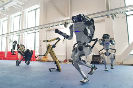 Robot specialist Boston Dynamics offers rare look inside its workshop
