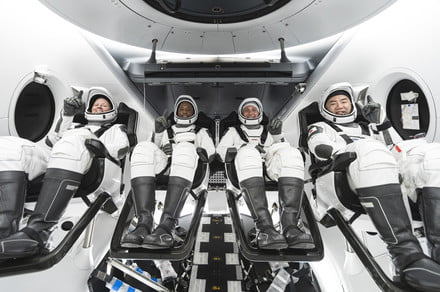 How to watch ISS astronauts take the shortest ride yet on Crew Dragon