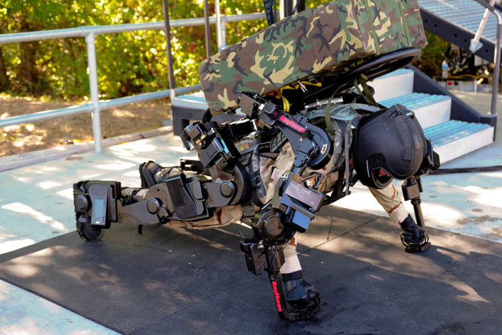 exoskeletons military