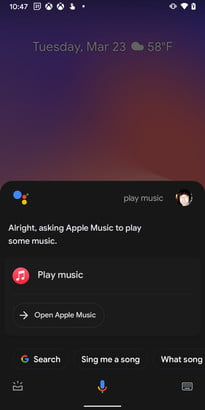 what is google assistant play music