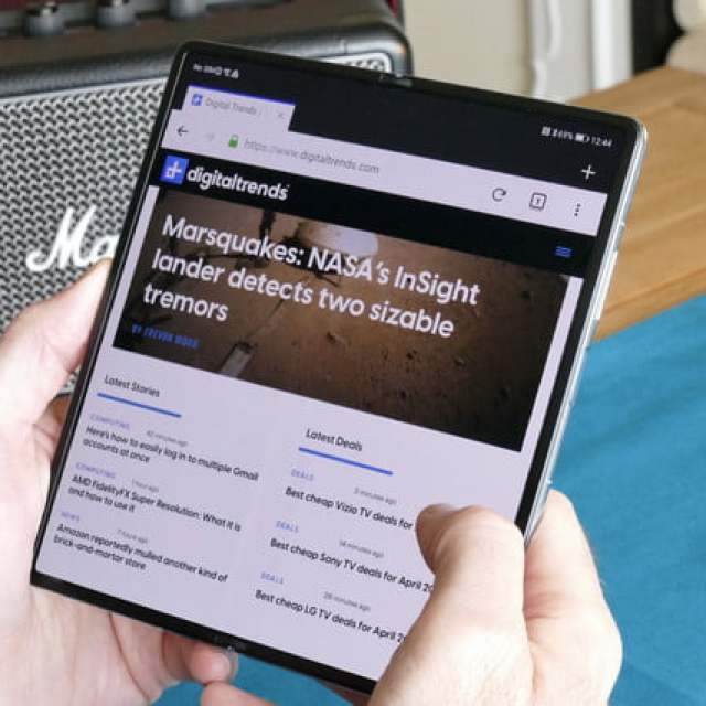 huawei mate x2 hands on features price photos release date open browser