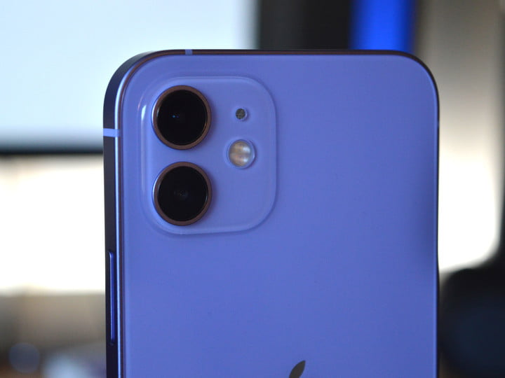hands on with purple iphone 12 7