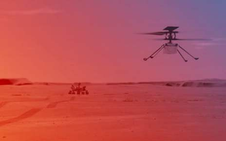 Here's the plan for the first flight of the Mars helicopter Ingenuity