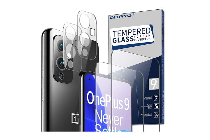 Qitayo Screen Protector and Camera Protector for OnePlus 9