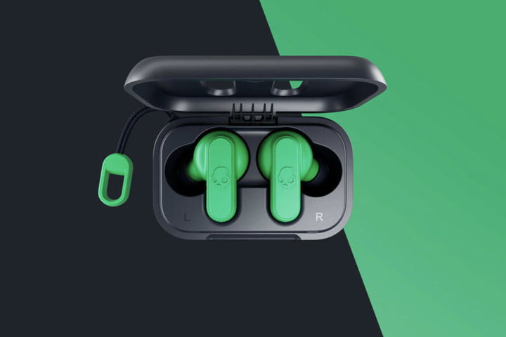 skullcandy dime wireless earbuds green