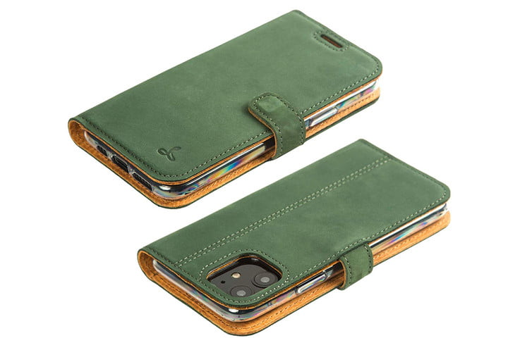 Snakehive iPhone 11 Leather Case