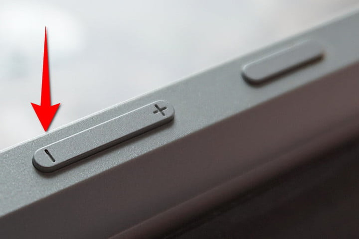 Surface 3 Buttons