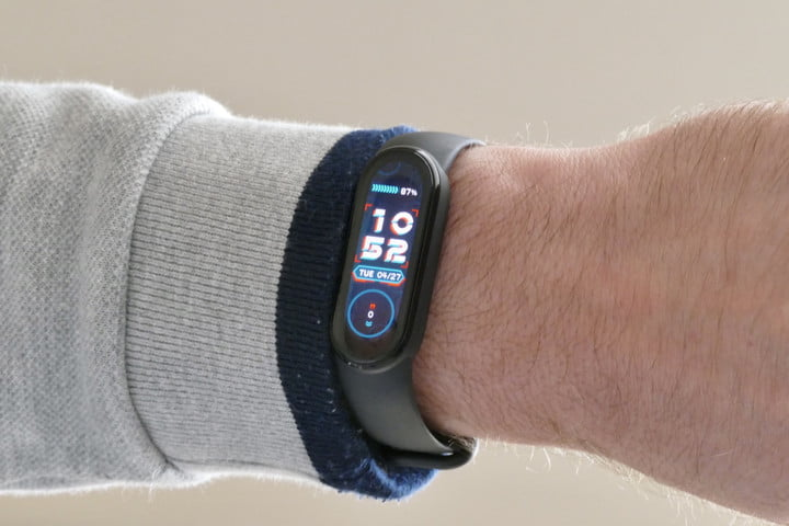 xiaomi mi band 6 review watch face 1