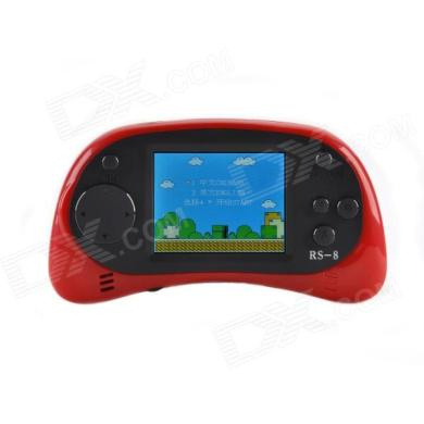 GAME PLAYER ES 16 2 5   TFT Screen 8 Bit Handheld Game Console w     GAME PLAYER ES 16 2 5   TFT Screen 8 Bit Handheld Game Console w  168 Games    Red   Black