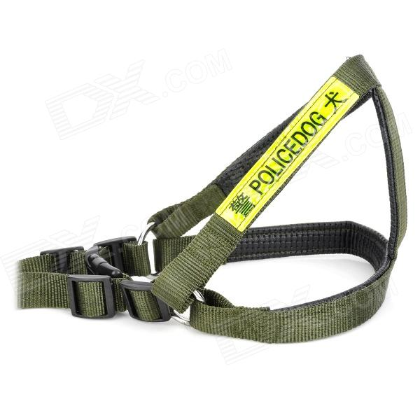 Juqi Adjustable Nylon Reflective Harness Belt Strap For
