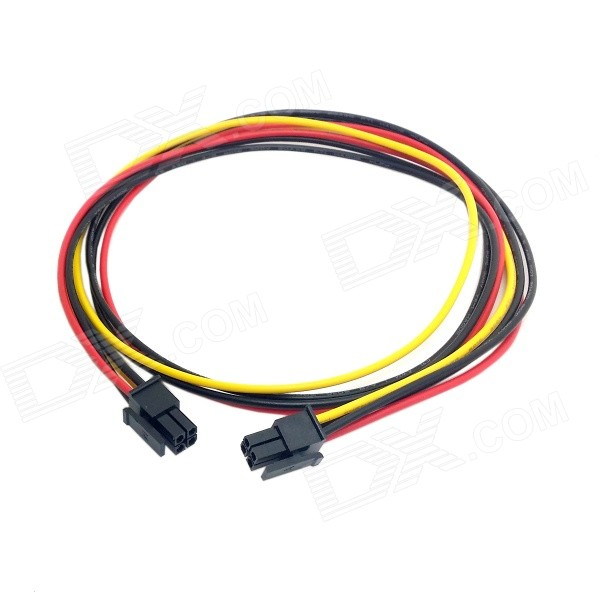 CY PW-071 ATX Molex Micro Fit Connector 4-Pin Male to Male Power Cable (60cm) Yellow Dot ATX Power Supply Bridge Jumper On/Off Switch (Lighted) For 24/20 Pin PSU Connector Yellow Dot ATX Power Supply Bridge Jumper On/Off Switch (Lighted) For 24/20 Pin PSU Connector sku 354680 1
