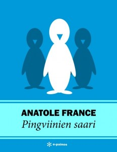 Pingviinien saari -kansikuva