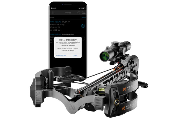 SIG SAUER Electro-Optics Partners with Mission Crossbows Revolutionary Ballistic Data Xchange (BDX) System Now for Crossbows