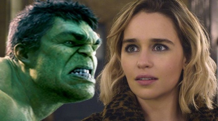 Hulk and Emilia Clarke