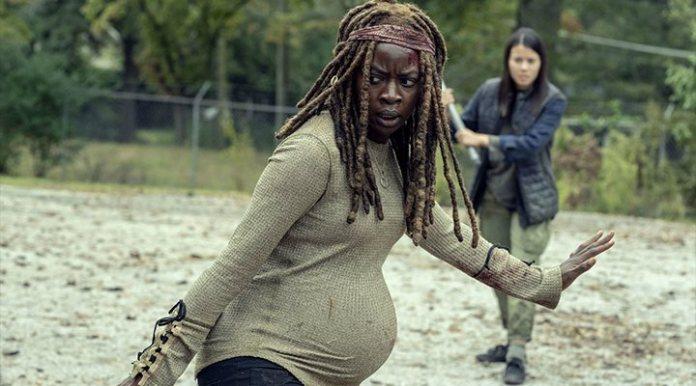 'The Walking Dead', joke Danai Gurira