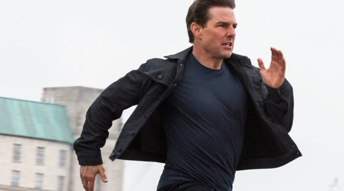 Tom Cruise in 'Mission Impossible: Fallout (2018)'
