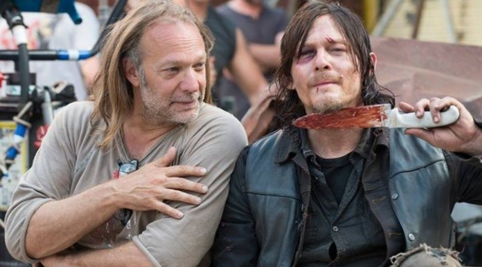 Norman Reedus Greg Nicotero The Walking Dead