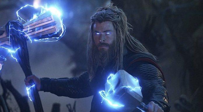 Chris Hemsworth as Thor in 'Avengers: Endgame (2019)'
