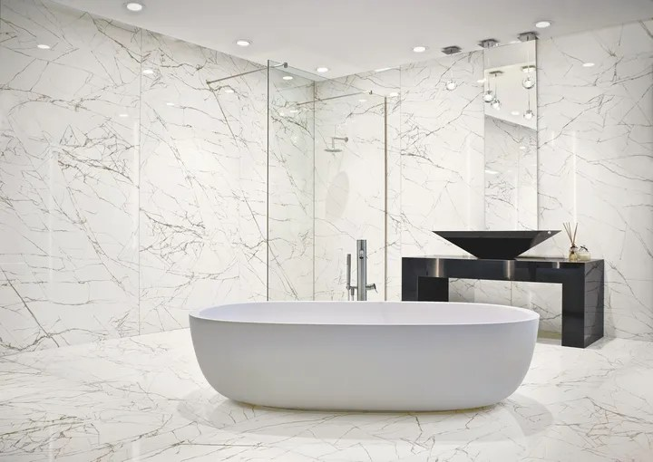 a ceramic tile for every bathroom style
