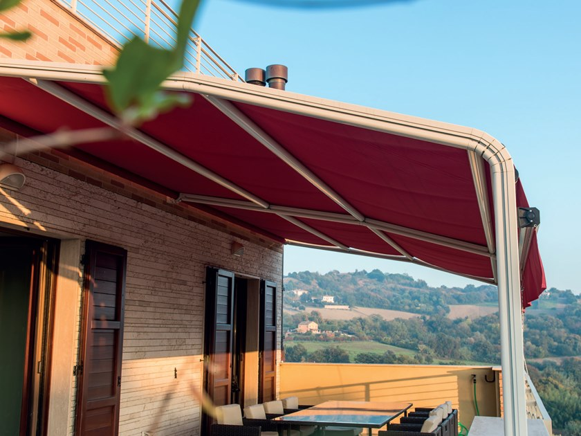 Tende arricciate, tende verticali, tende a pannello, tende a rullo, tende. Tenda Da Sole Con Guide Laterali Giardino 94 By Mv Living